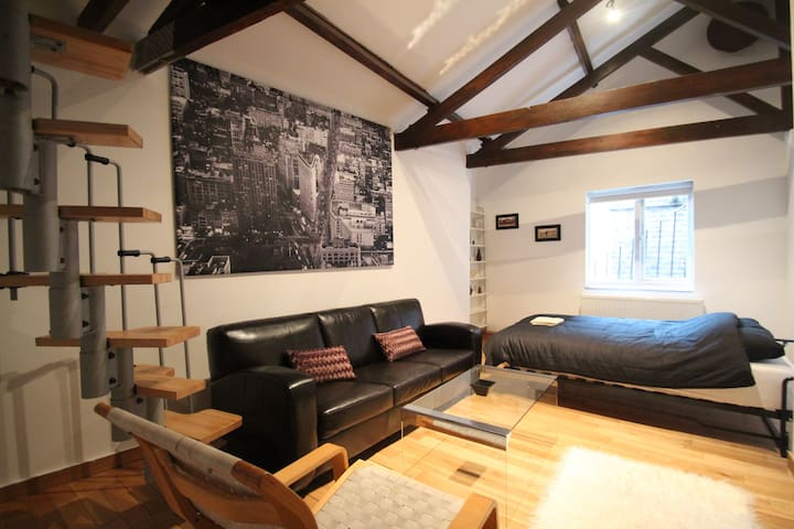 Loft Apartment For Rent In Hatton Garden EC1
