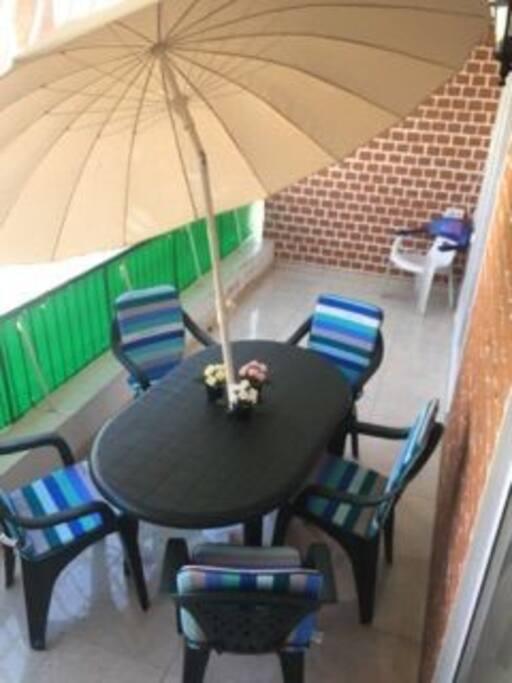 Balcon de 12 m2