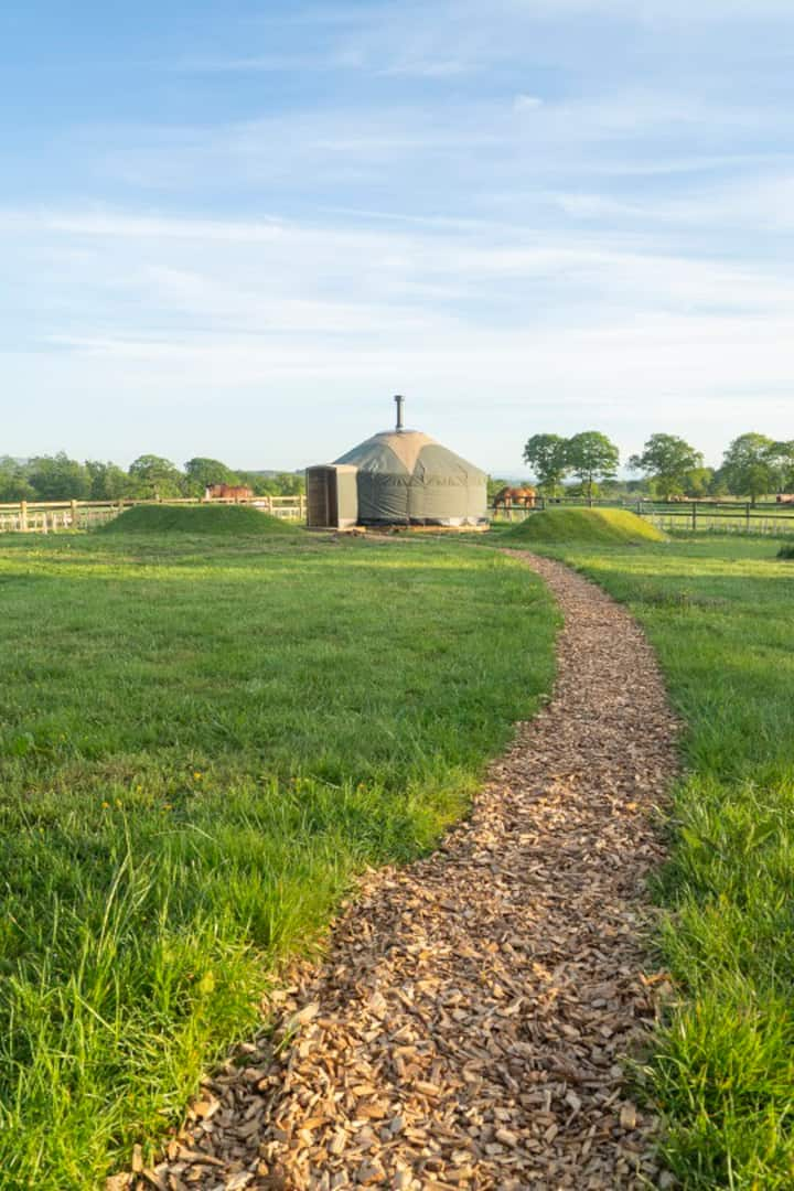 Cozy Country Yurts at Hadrian's Wall