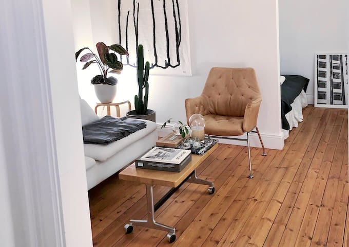Scandinavian design apartment in Södermalm, SoFo