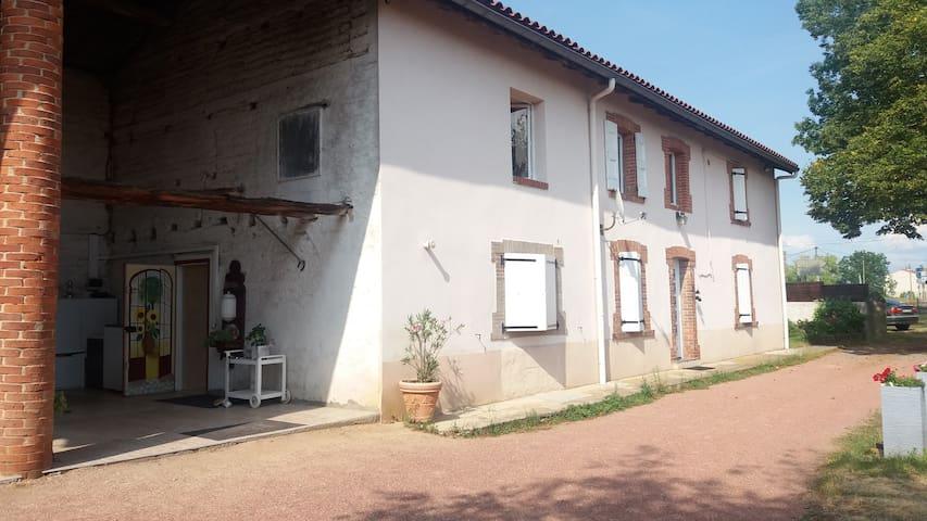 Chambre + Sdb privée dans ancien corps de ferme