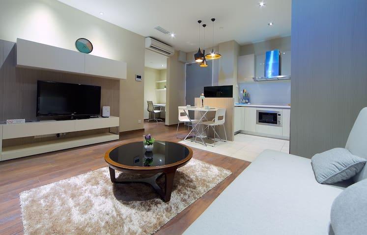 Relaxing Suite @ Riverson SOHO, Kota Kinabalu - Kota Kinabalu - Byt se službami (podobně jako v hotelu)
