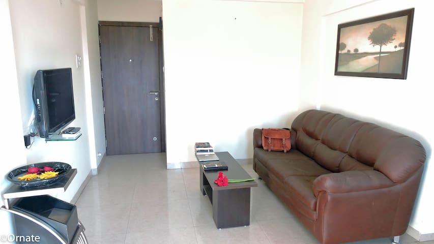 Big 1 Bhk fully furnished - Pune - Apartment