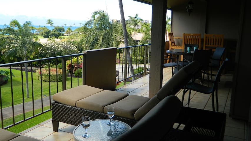 Ocean Views from Maui Eldorado One Bedroom/Two Bath D206!  Private Location!| Sleeps: 1 Bedroom, 2 Bathroom