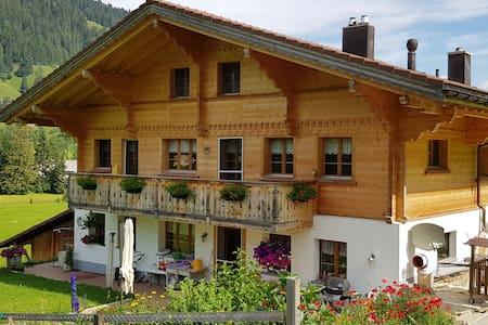 Hübelihus - Gstaad (Grund) - Zimmer 1