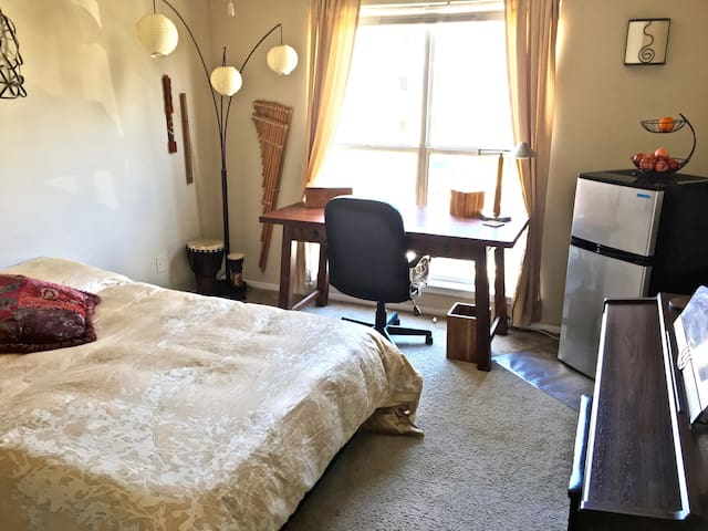 Comfy Sunny Apt Bedroom near UNC & Southpoint Mall - Chapel Hill - Appartement