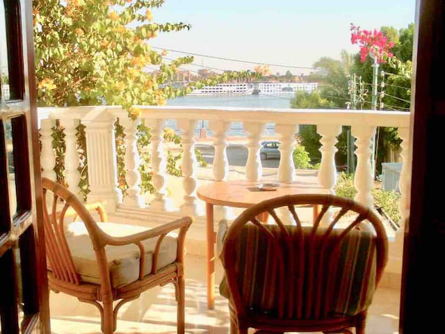 Luxor Temple, private Pool & Nile View  in Luxor