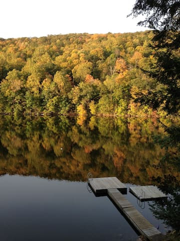 Lakefront Retreat in South Salem, NY