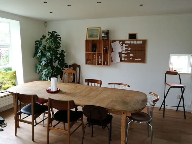 Room for rent in authentic Danish 'collective'