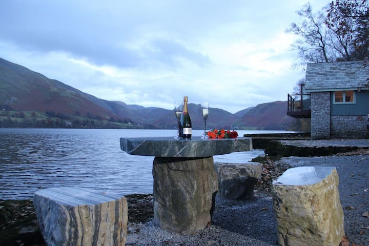 BOATHOUSE ON ULLSWATER, Watermillock, Lake Ullswater - Ullswater