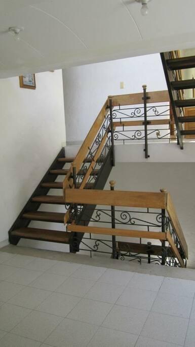 diseño de las escaleras
