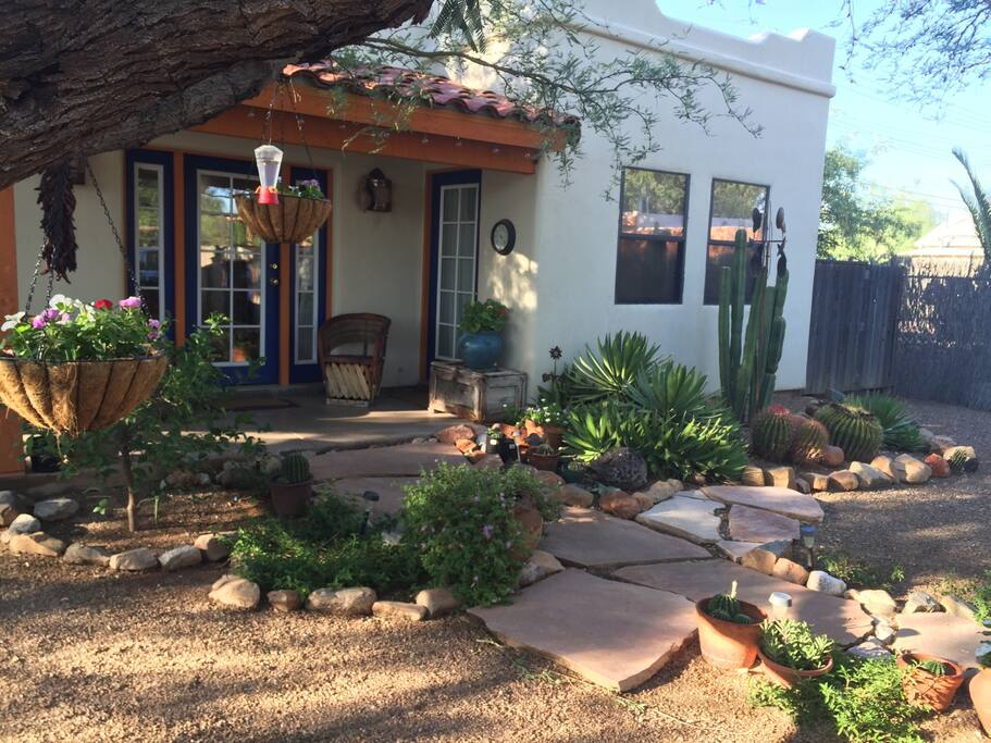 Private Southwestern Style Casita Houses For Rent In