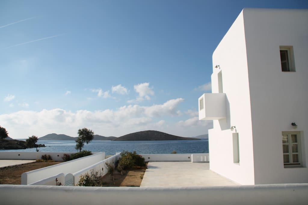 View from the veranda / Θέα από τη βεράντα