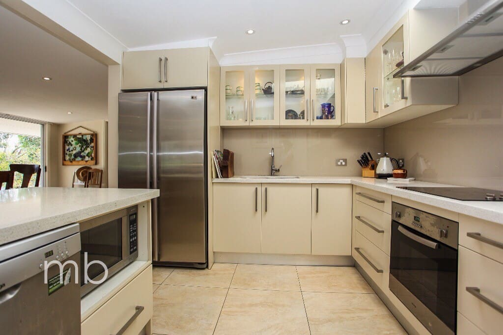 Newly renovated kitchen available for your use including microwave, fan forced oven and dishwasher