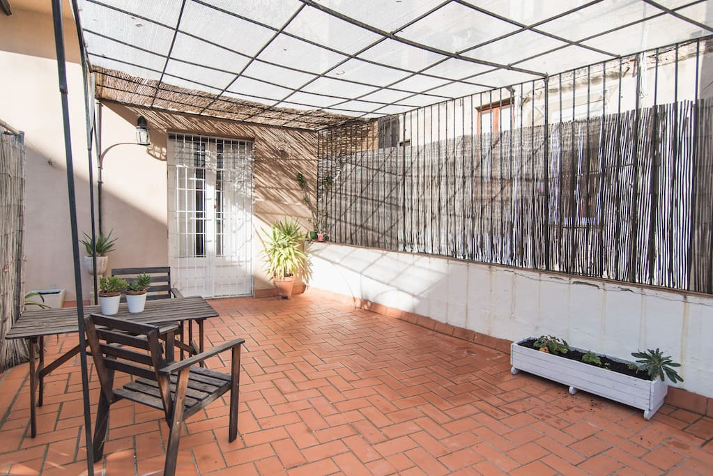 Born best location in center loft with terrace lofts - Location loft barcelone ...