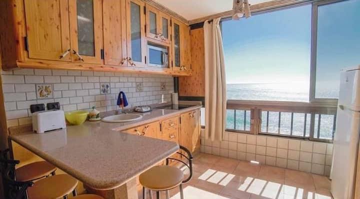 Apartamento en primera línea de maravillosa playa!