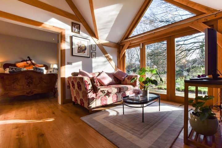Sycamore, Bibury, romantic, Cotswold cottage