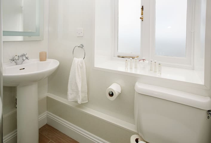 Ground floor: Shower room with a wc