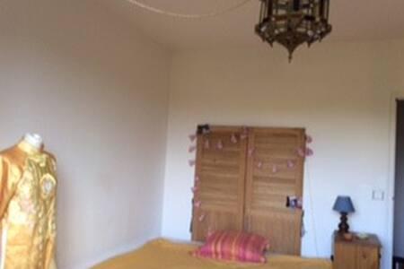 Deux chambres dans maison au calme et au vert - Casa