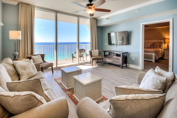 Tidewater - Beach Front Master! Bunk Area for kids