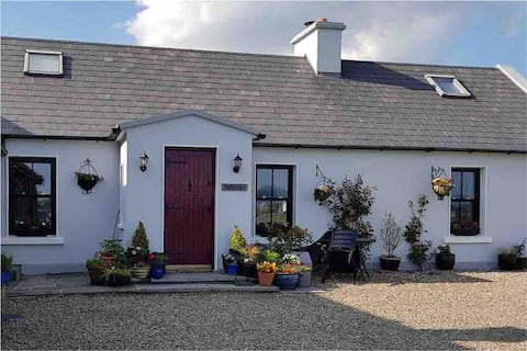 A beautiful semidetached traditional stone cottage
