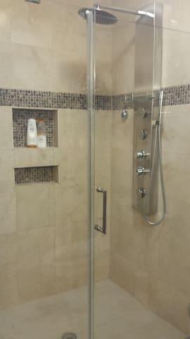 Master Bathroom Rain Shower