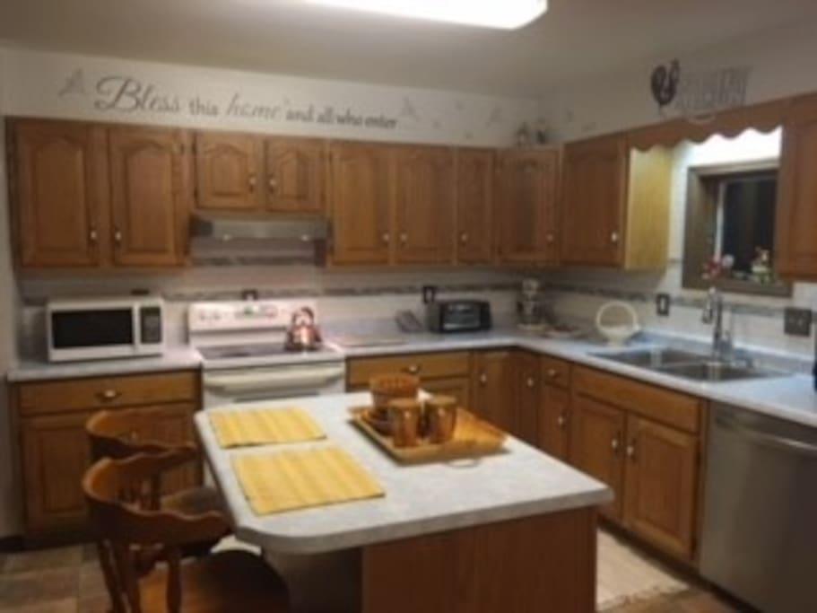 The Kitchen Prep Area