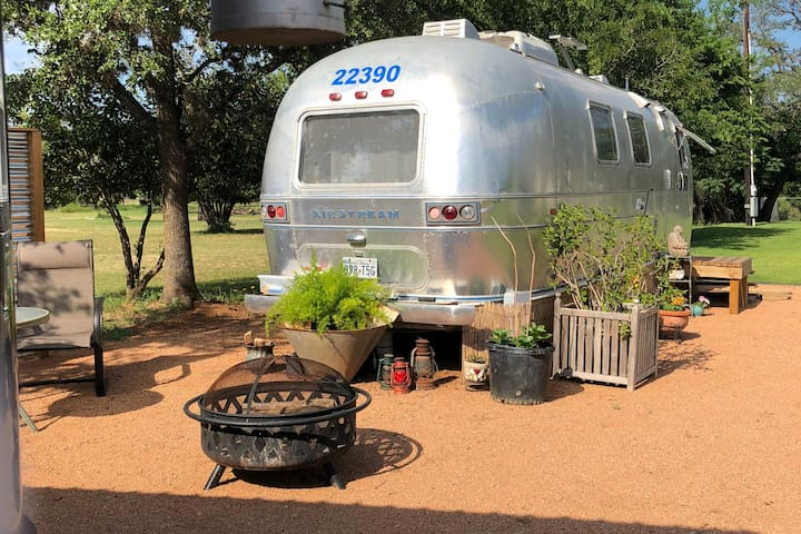 Texas Hill Country AirStream BnB