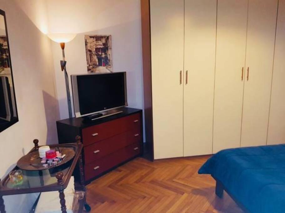 camera letto con balcone