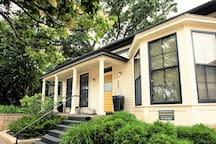 Historic 150 year old charm in a modern completely renovated duplex