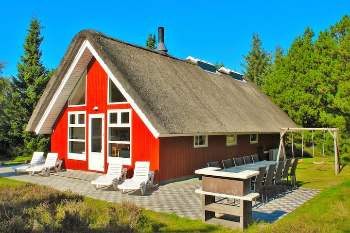 Renovated Wellness Cottage for 10 people on Rømø