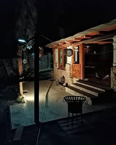 Casa de campo en un hermoso pueblo tradicional.