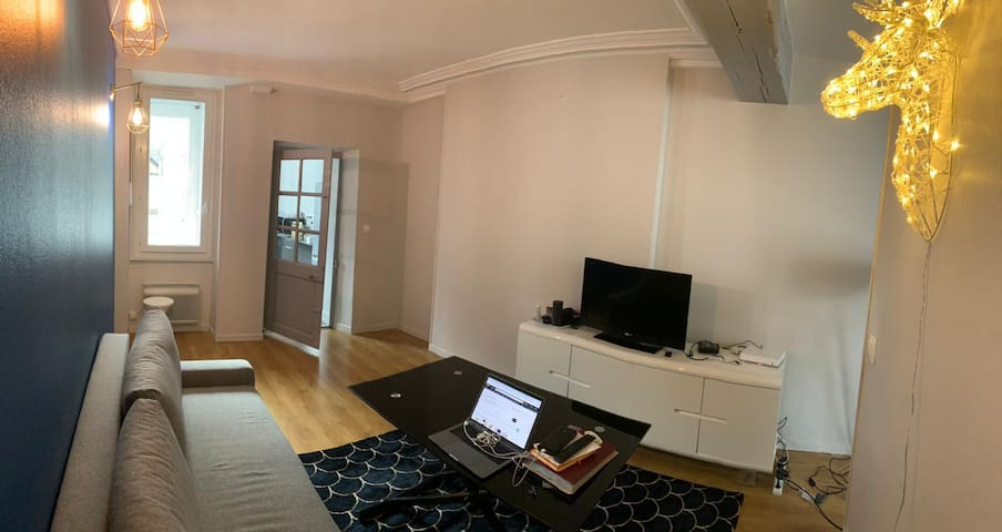 Appartement charmant en coeur de ville !