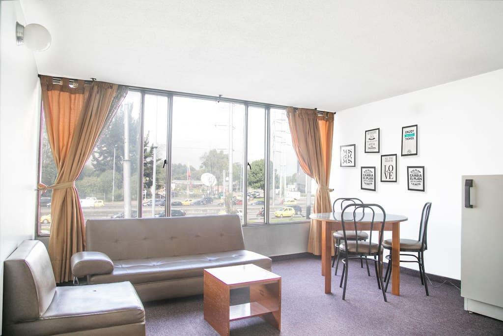 Sala-Comedor / Dining-Livingroom