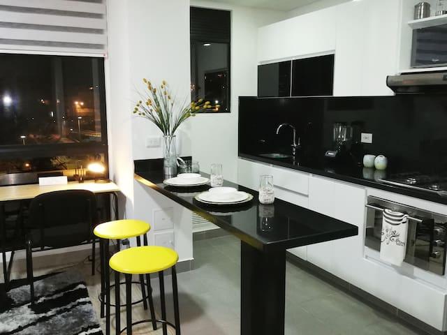 Espectacular apartamento en el Centro de Bogotá.