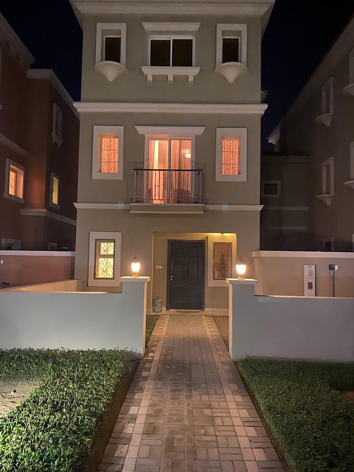 3 Bedroom 4 Bathroom Townhouse In Al-Waha Springs