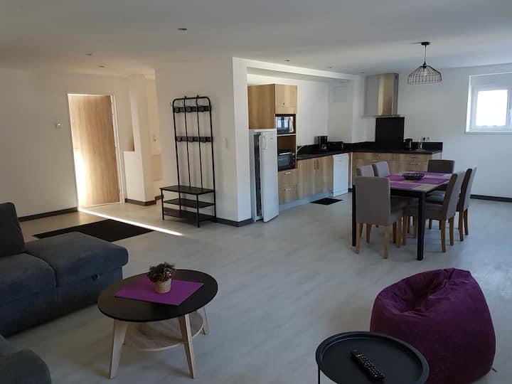 Appartement NEUF 4* Le Cerf   sauna balnéo