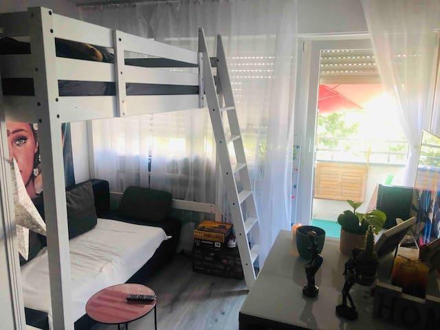 Gemütliches 1-Zimmer Apartment Schwanthalerforum!