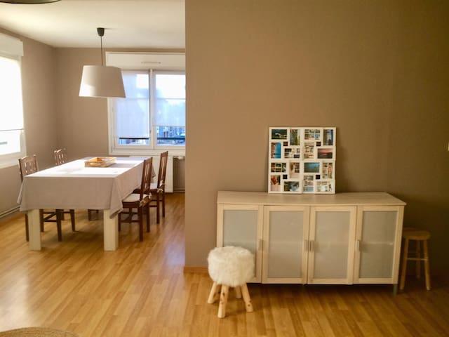 Appartement spacieux, tout confort