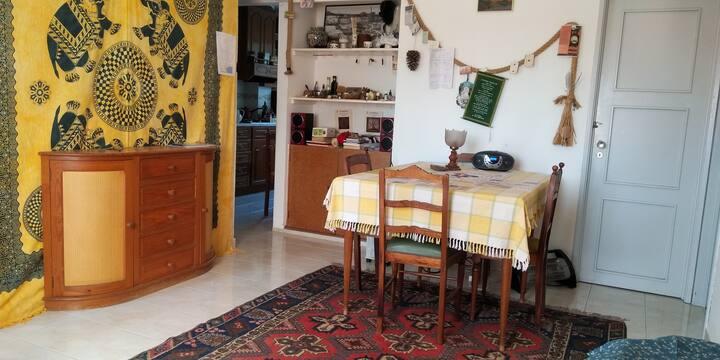 Chambre dans appartement près du centre ville.