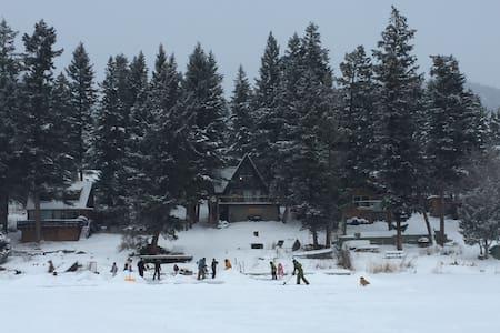 Magical A-Frame lakeside cabin - Kamloops