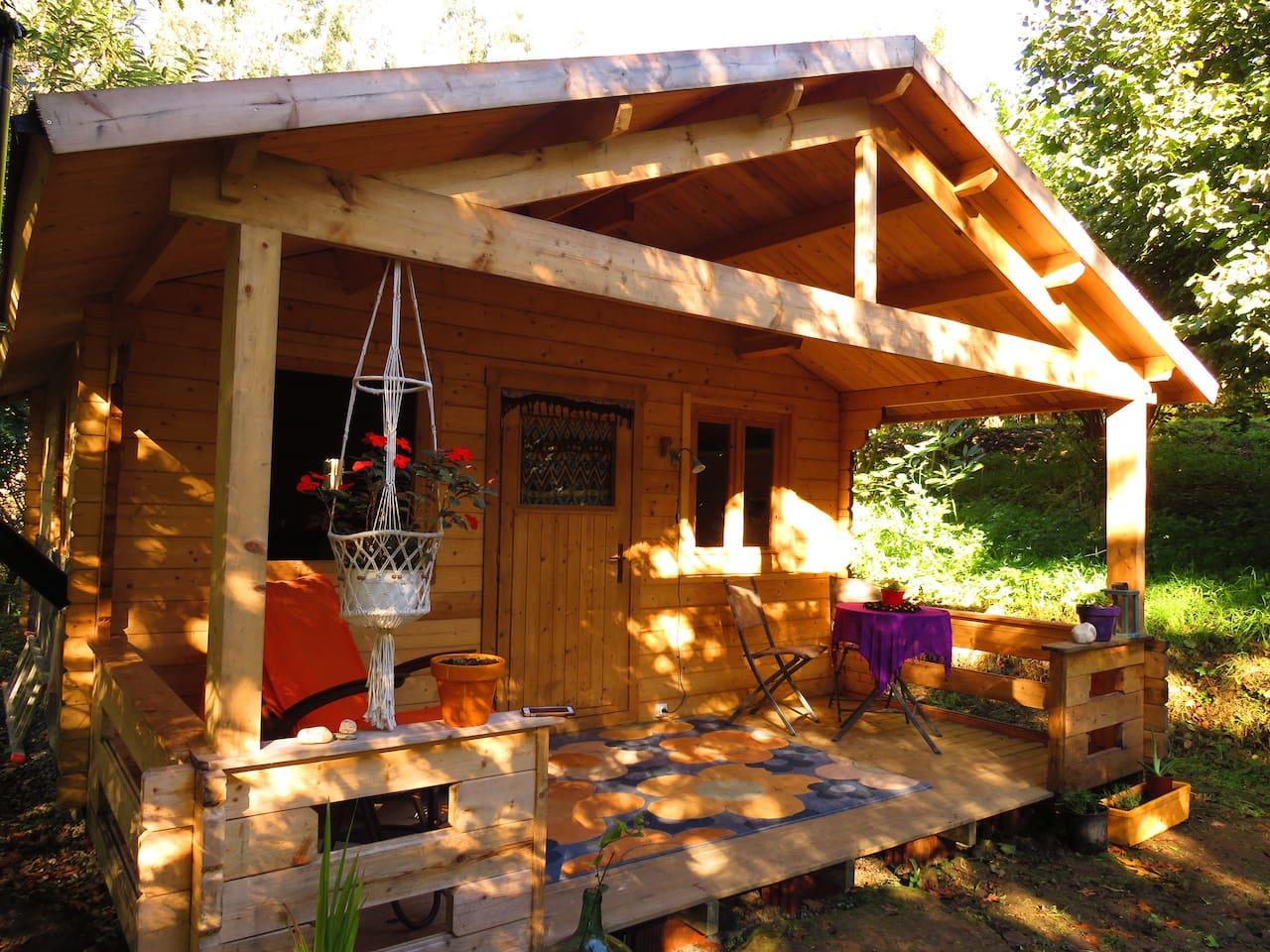 La cabaña del bosque