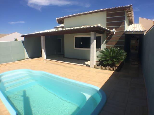 casa comm piscina e churrasqueira - São Pedro da Aldeia - Condominio