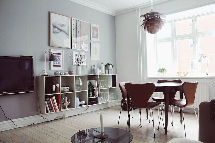 Central, Cosy apartment at Islandsbrygge