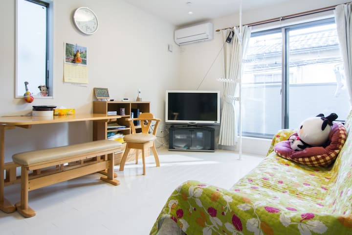 One cozy house 8 mins from Senkawa Station(Room2) - 豊島区 - House