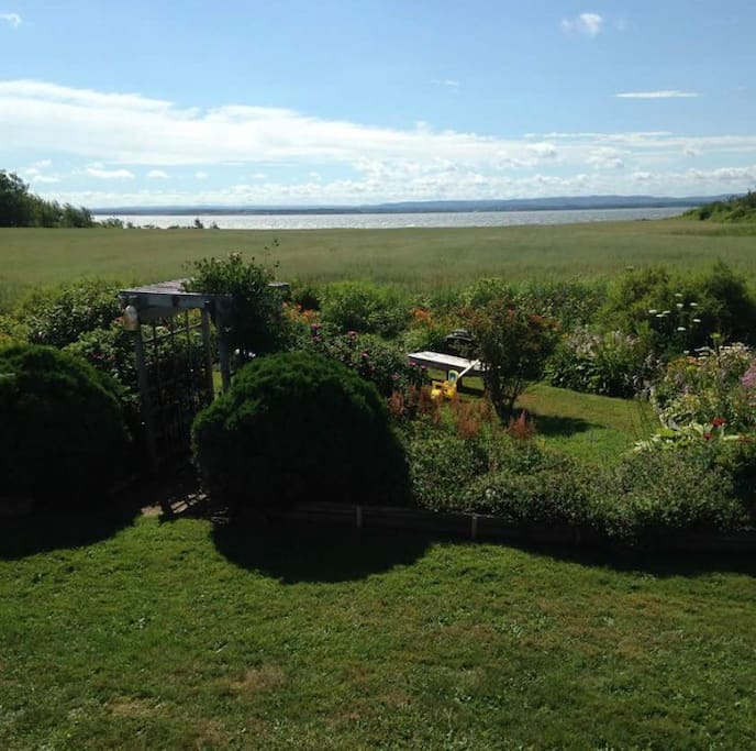 Tatamagouche Bay view from cottage