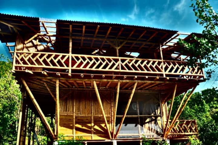 Bamboo Tree House in the Sky - Whole 3 Bed House