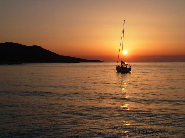 Barca a vela, Isola d'Elba