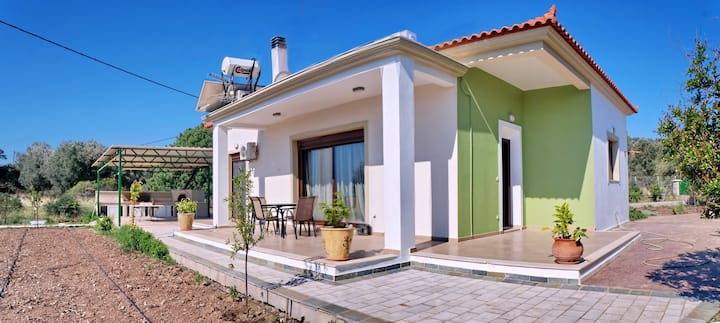 House with 3 bedrooms in Vatera, with wonderful sea view, enclosed garden and WiFi