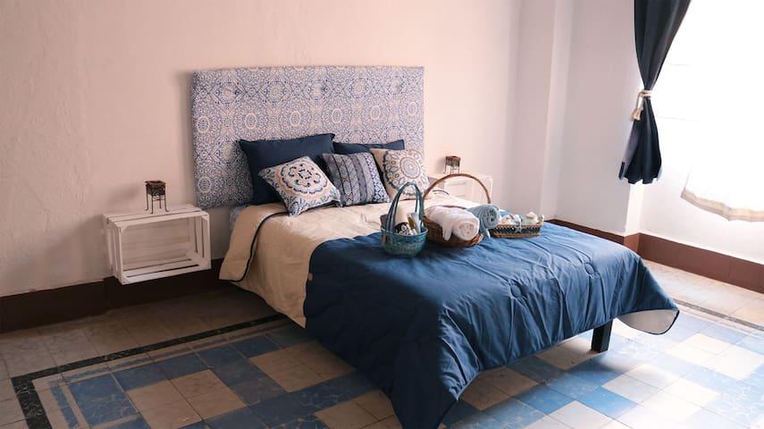 ¡A pasos del Zócalo! Linda y tranquila habitación